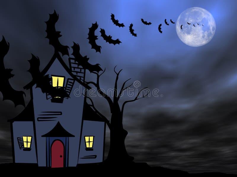 Halloween theme vector illustration