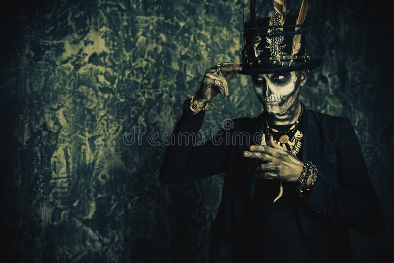Halloween-traditiesconcept stock afbeelding