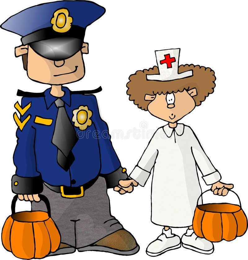 Download Halloween treaterstrick redaktionell bild. Bild av trick - 30401