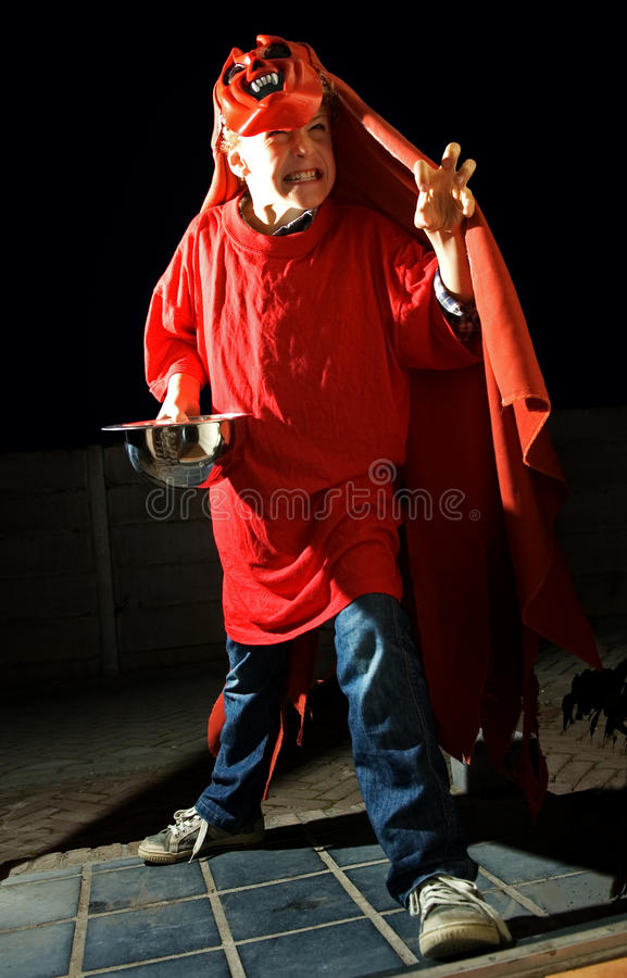 Download Halloween Trick Or Treat Kid Stock Image - Image: 10911015