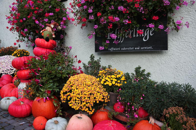 Halloween in Ulm stock afbeelding