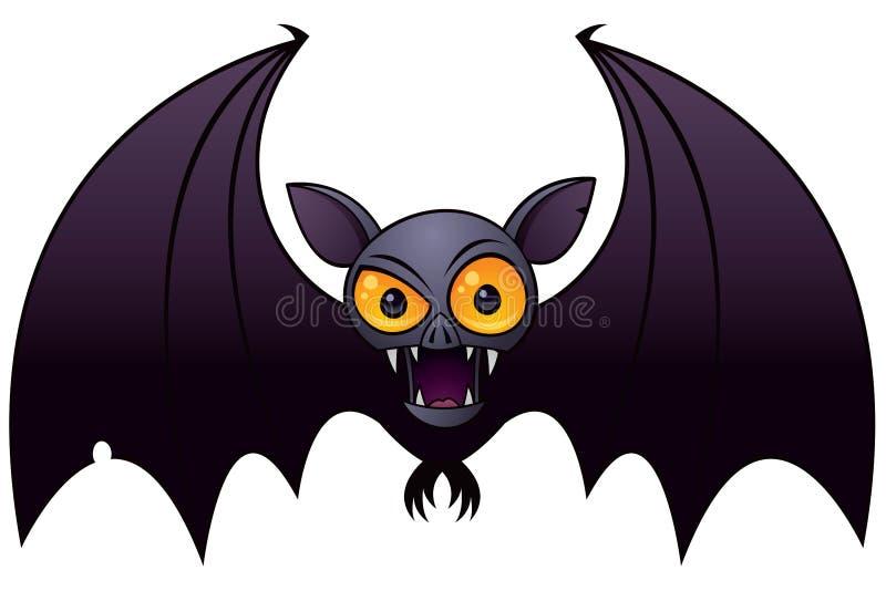 Halloween-Vampir-Hieb lizenzfreie abbildung