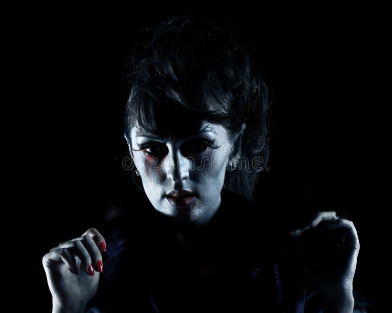 Halloween vampire stock photo