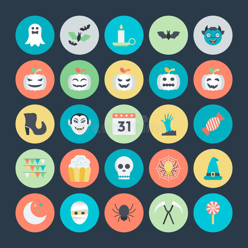 Free Halloween Vector Icons 3 Stock Photos - 70251463