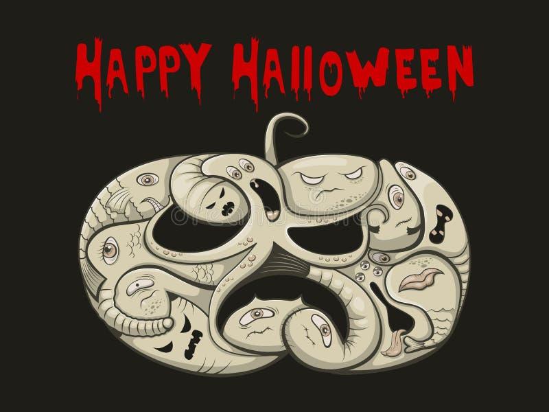 Halloween vector illustration