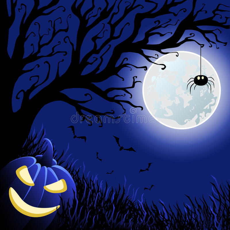 Halloween vector illustration royalty free stock images
