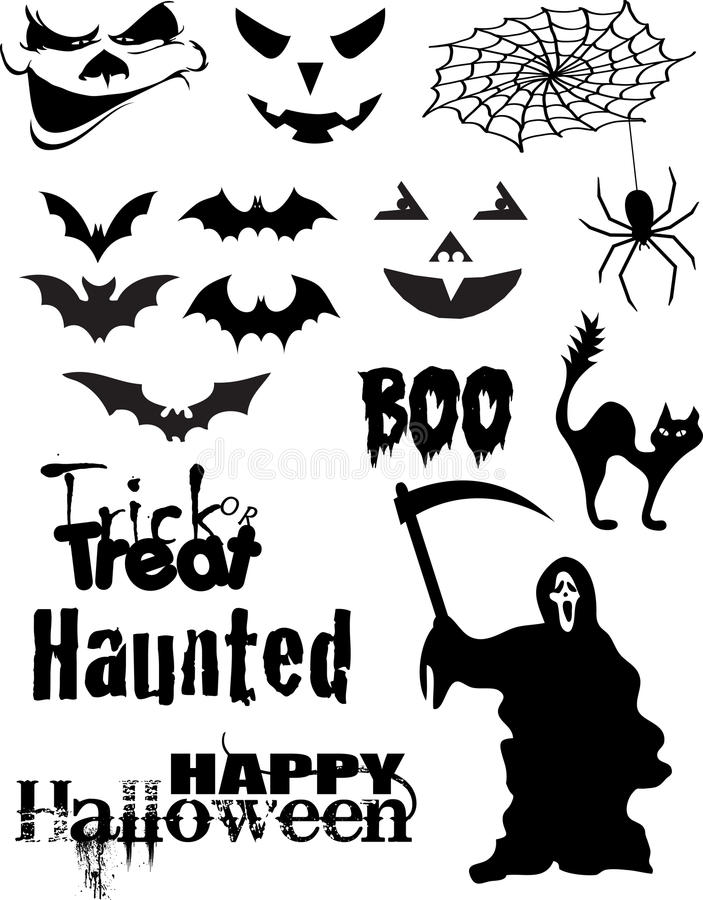 Halloween Vector Pack stock illustration