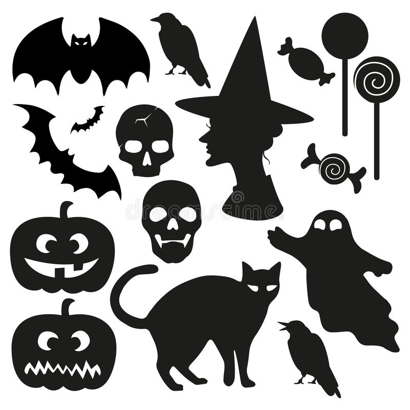 Free Halloween Vector Set Stock Images - 61186434