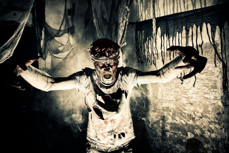 Halloween-verschrikking stock fotografie