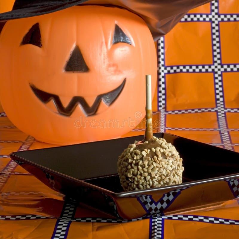 halloween wakacje kwadrata stół obraz stock
