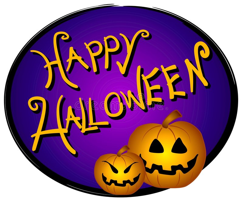 Download Halloween Web Page Logo Sign Stock Illustration - Image: 3167679