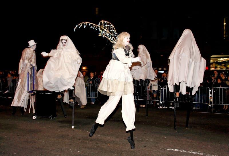 halloween wielka parada obrazy stock