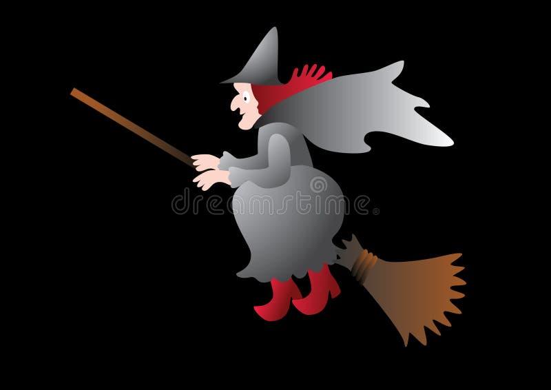 Download Halloween witch. stock vector. Image of gloom, evil, october - 21072898