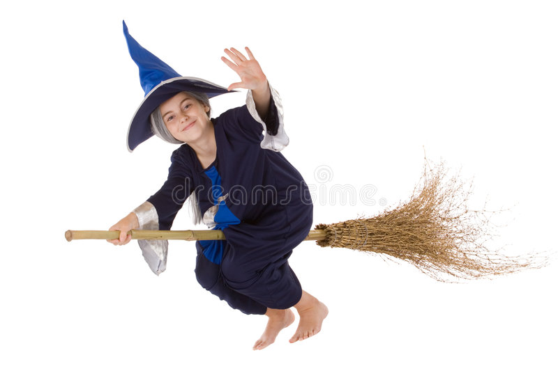 Halloween witch royalty free stock photography