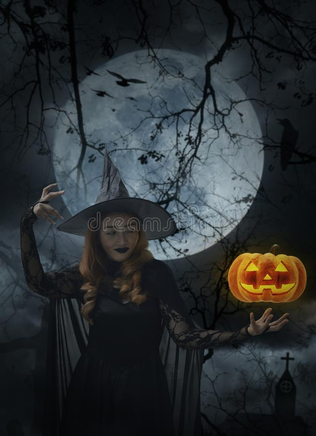 Halloween mystery concept stock images