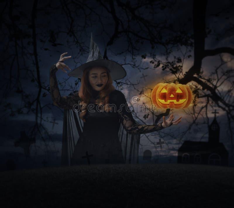 Halloween mystery concept stock photo