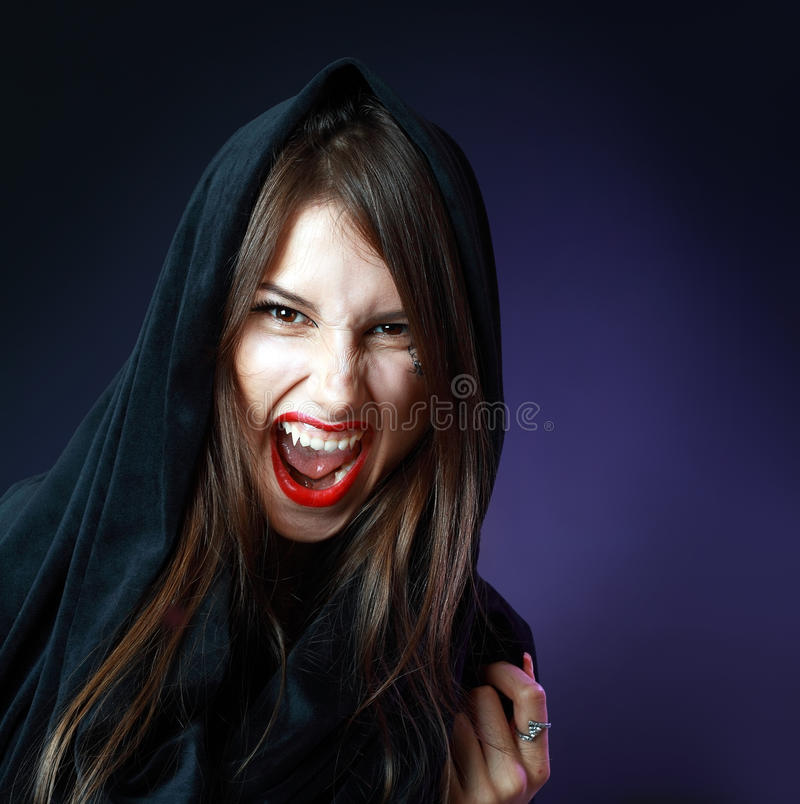 Halloween Woman Royalty Free Stock Photos