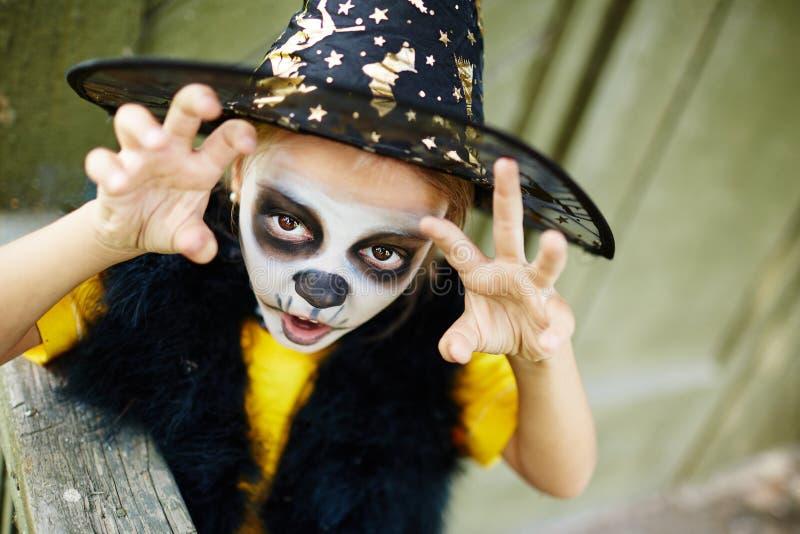 Halloween-Wut lizenzfreies stockbild