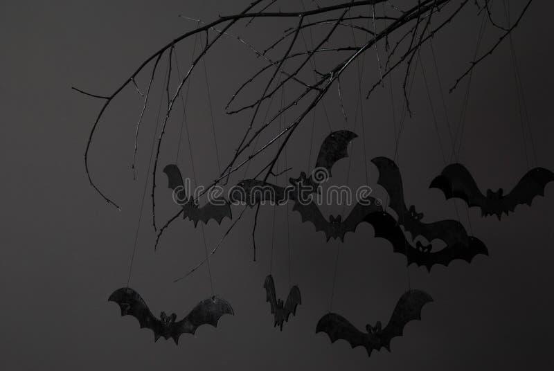Halloween y muchos palos imagen de archivo libre de regalías