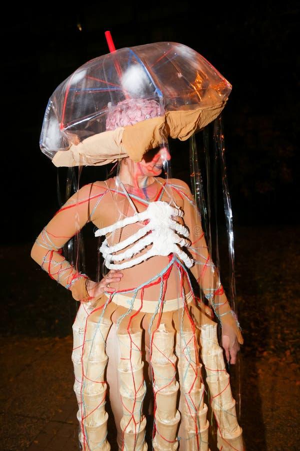 Halloween, Zagreb, Kroatien lizenzfreies stockfoto
