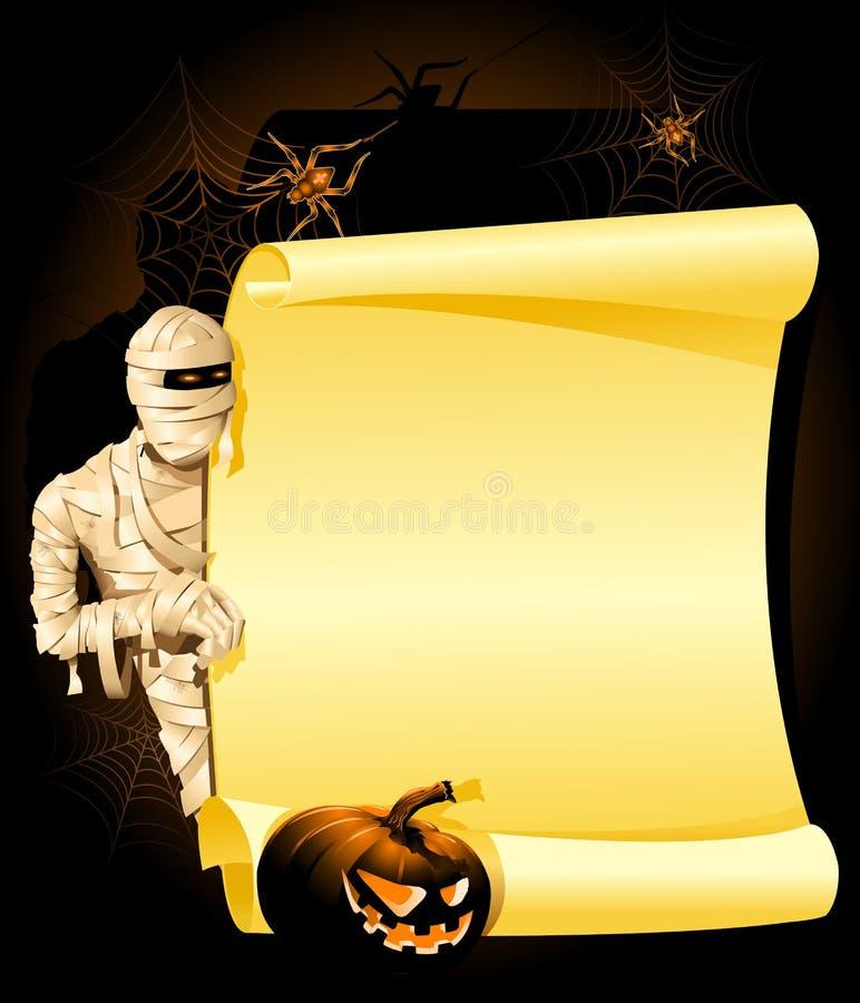 halloween zaproszenie ilustracja wektor