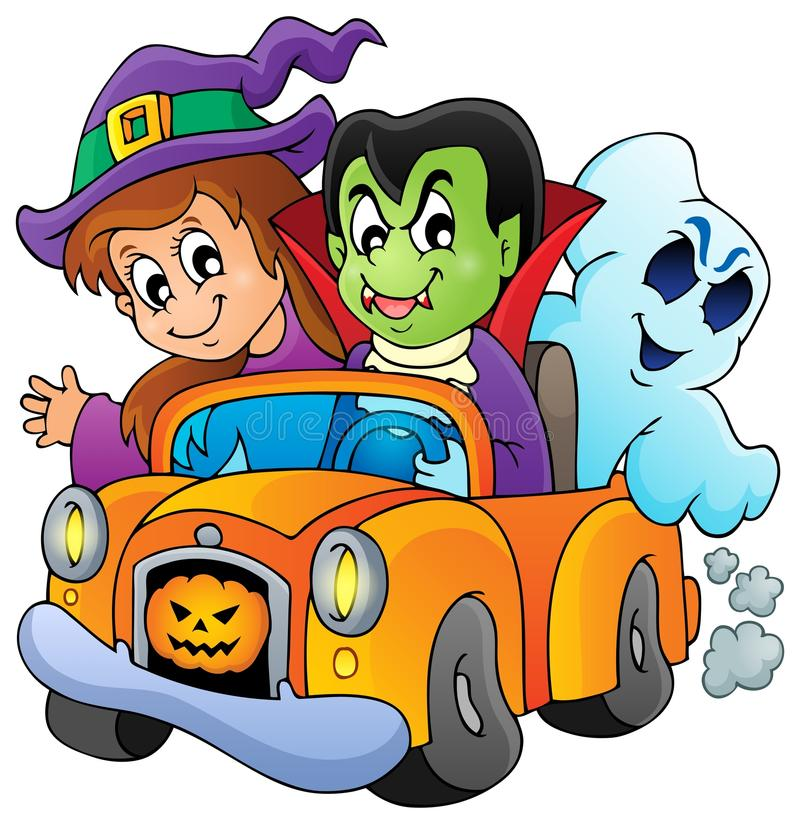 Halloween-Zeichenbild 9 lizenzfreie abbildung