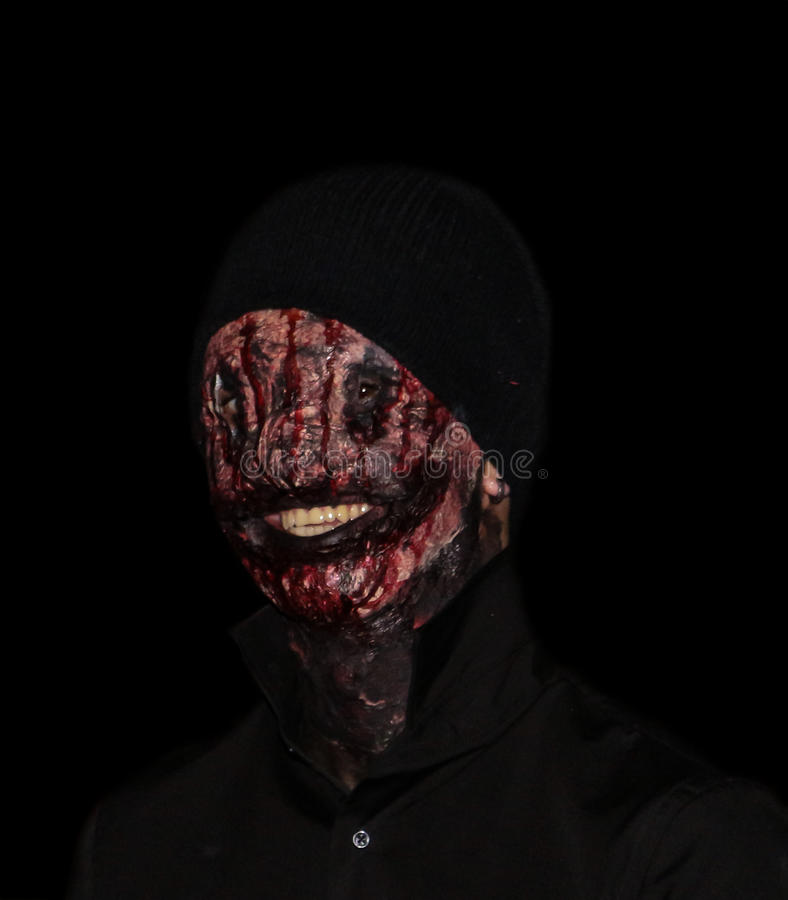 Halloween-zombie royalty-vrije stock foto
