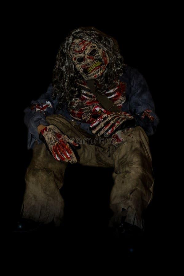 Halloween-zombie stock fotografie