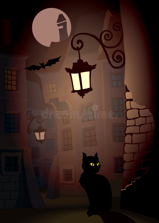 Halloween2 illustration stock