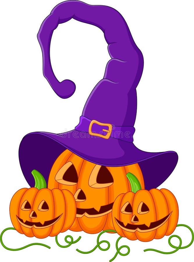 Halloweenowa bani kreskówka ilustracja wektor
