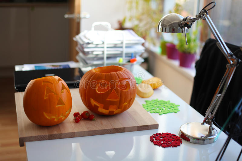 Halloweenowa Bania Obraz Royalty Free