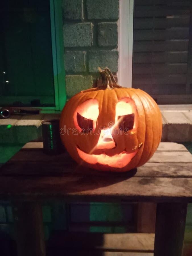 Halloweenowa Gankowa bania zdjęcia royalty free
