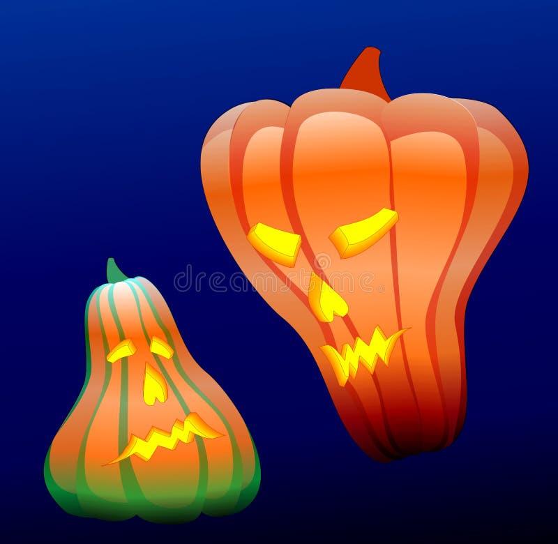 Halloweenowa ilustracja ilustracja wektor
