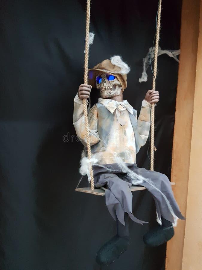 Halloweenowa karaweli lala obrazy royalty free