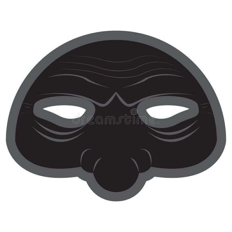 Halloweenowa opery maska ilustracji