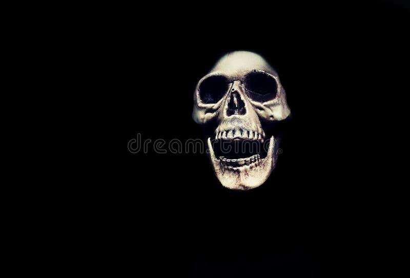 Halloweenowa potwór czaszka zdjęcie royalty free