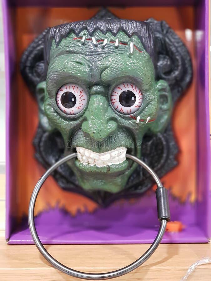 Halloweenowa straszna maska royalty ilustracja