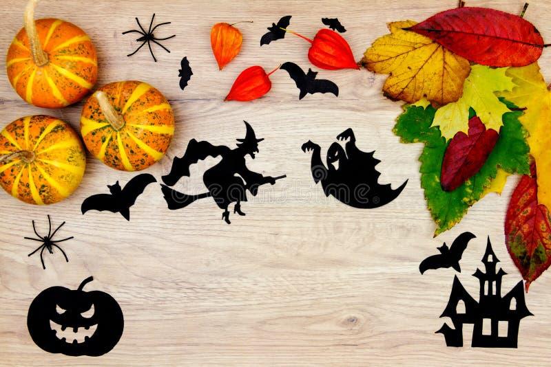 Halloweenowa wakacyjna dekoracja fotografia stock
