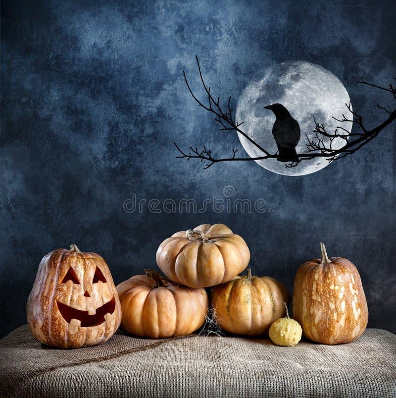 Halloweenowa wigilia zdjęcie stock