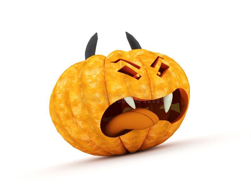 Halloweenowe banie odpłacać się ilustracji