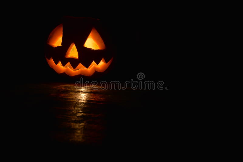 Halloweenowy ciemny tło fotografia royalty free
