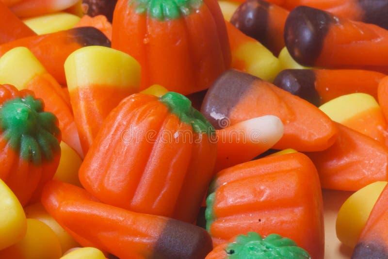 Halloweenowy cukierku zbliżenie zdjęcie stock