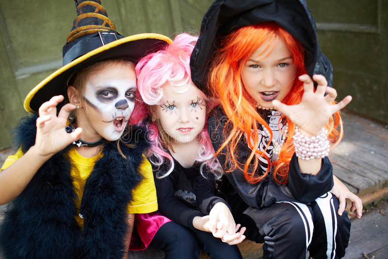 Halloweenowy czupiradło obraz stock