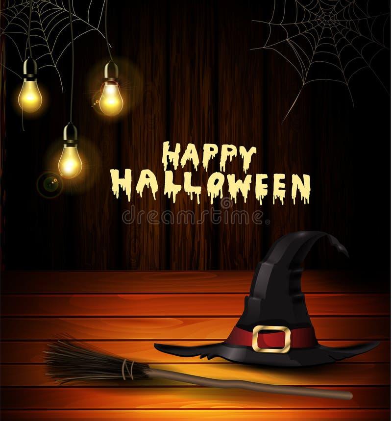 Halloweenowy dyniowy realistyczny z upałem Na biel ilustracji