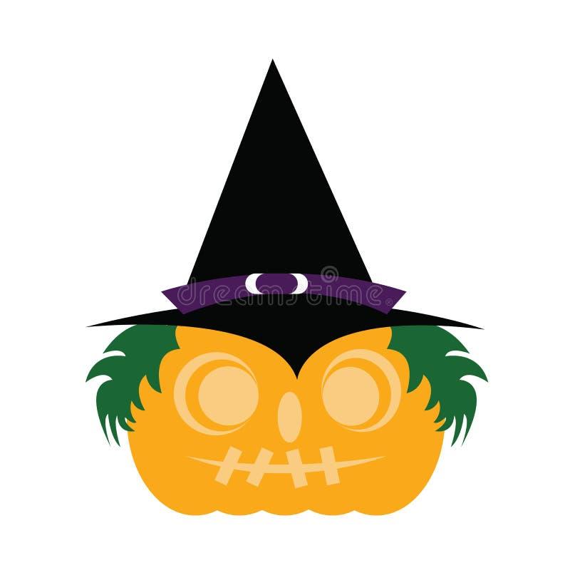 Halloweenowy, Halloweenowy majcher/ obraz royalty free