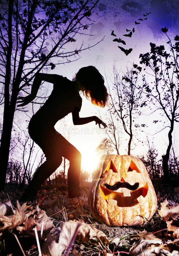 Halloweenowy koszmar obrazy royalty free