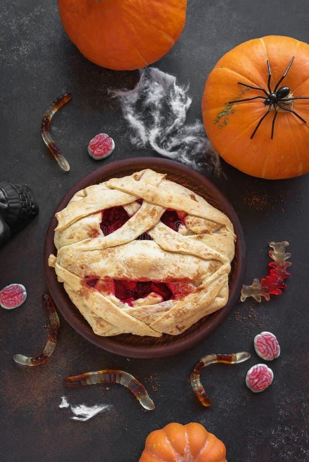 Halloweenowy mamusia kulebiak zdjęcie royalty free