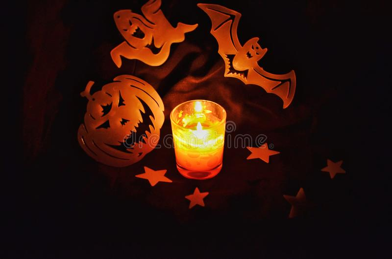 Halloweenowy okrzyki niezadowolenia! zdjęcia royalty free