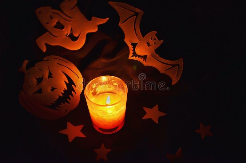 Halloweenowy okrzyki niezadowolenia! zdjęcie stock