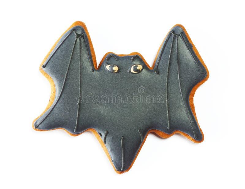 Halloweenowy piernikowy ciastko zdjęcie royalty free